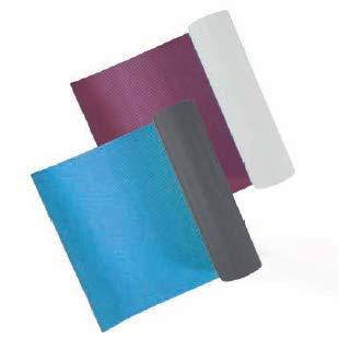 Toorx Materassino Yoga Bicolore Professionale Viola/Grigio MAT-184