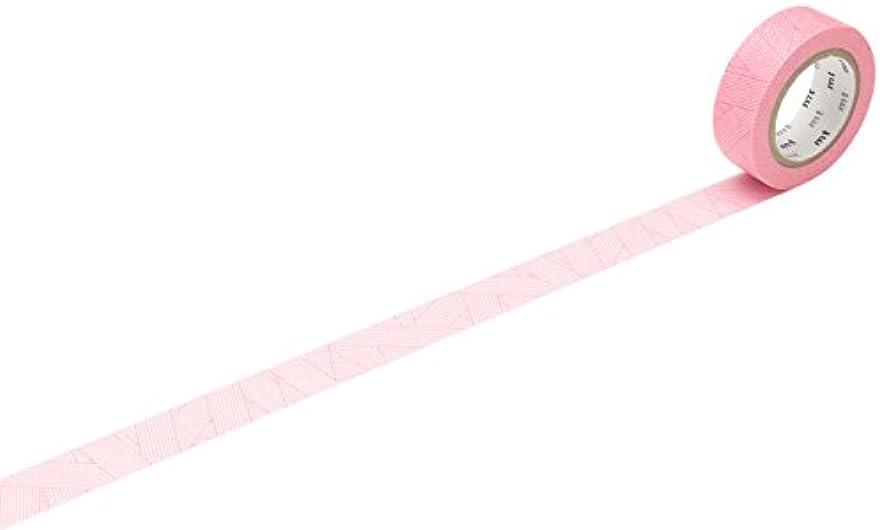 mt Messy Megenta Washi Masking Tape Roll - Red
