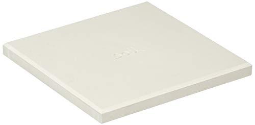 soil 珪藻土 コースター ラージ スクエア ホワイト D201 WH