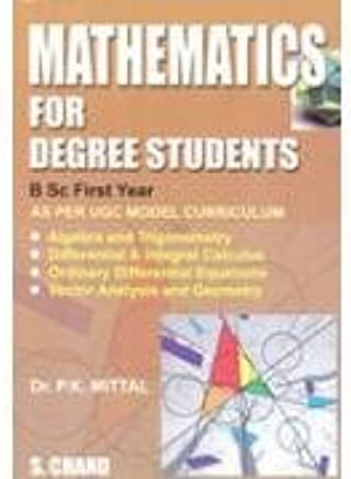Buy Mathematics for Degree Students for B Sc  1st Year Book