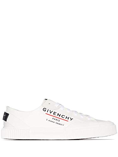 Luxury Fashion | Givenchy Heren BH001TH0L9100 Wit Polyurethaan Sneakers | Seizoen Permanent
