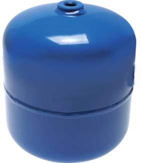 Druckluftbehälter Druckbehälter 2,5 Liter Inhalt, mit 2 Anschlüssen 10 bar