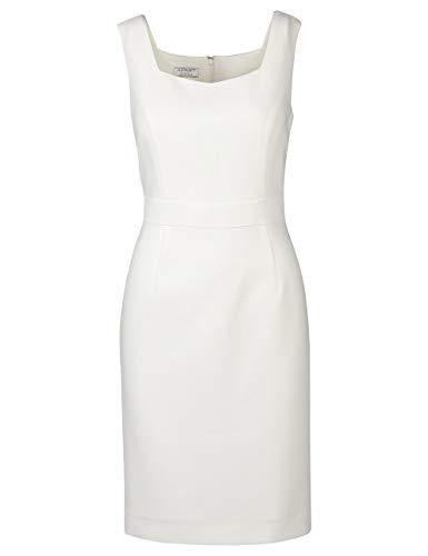 APART, Damen Kleid, Etuikleid, Farbton: crème, Klassische Eleganz, Creme, 34
