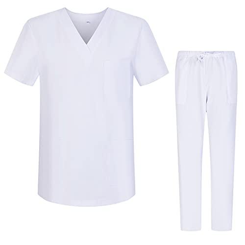 Workwear Tucano - Conjuntos Uniformes Sanitarios Blanco...