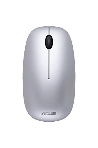 ASUS MW201C Bluetooth- und Funkmaus (kabellos, 2,4Ghz Switch, 1600 dpi) grau