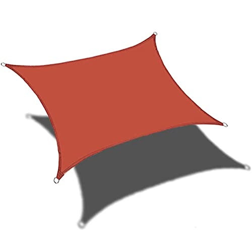 Toldo Triangular de Velas Parasol, Cubierta de Toldo de Bloque UV 90%, Paño de Sombrilla Rectangular, Impermeable, para Jardín de Patio Al Aire Libre,2.5x3m