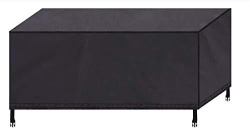 Gartenmöbel Abdeckung, FOCHEA Wasserdichtes Gartentisch Abdeckung für Gartenmöbel, Sitzgruppe, 420D Oxford, atmungsaktive Schutzhülle für Gartenmöbel, Gartentische, Stühle und Möbelsets (135x135x75cm)