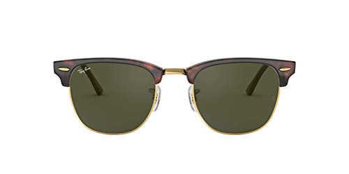 Ray-Ban Metallic RB 3016, Occhiali da Sole Unisex Adulto, Marrone (Braun Rb 3016 W0366), 51 mm