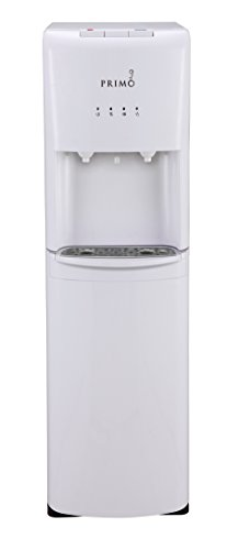 Primo White Bottom-loading Cold and Hot Water Cooler