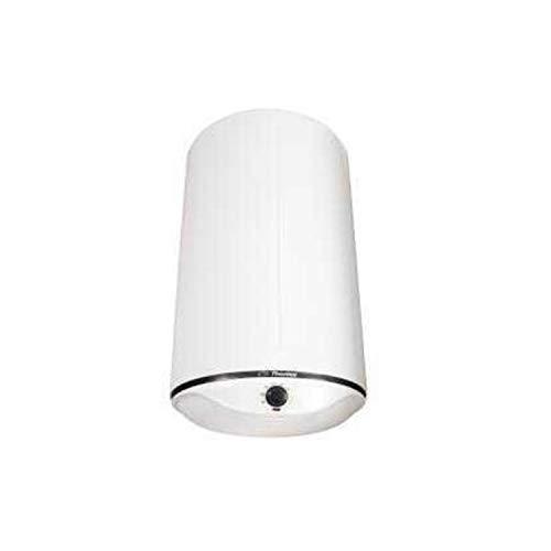 Thermor Termo eléctrico Slim Ceramics reversible, capacidad de 80 litros,resistencia cerámica, cuba vitrificada y termostato, 40 x 38 x 123 centímetros, color blanco (Referencia: 251083)