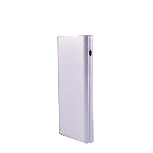 SACYSAC Powerbank, 10000mAh bewegende oplader, twee USB-snelladers, compatibel met Apple, compatibel met Huawei, compatibel met Samsung
