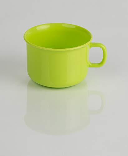 Kimmel Kindergedeck Tasse Becher bruchsicher Mehrweg, Kunststoff, Limone
