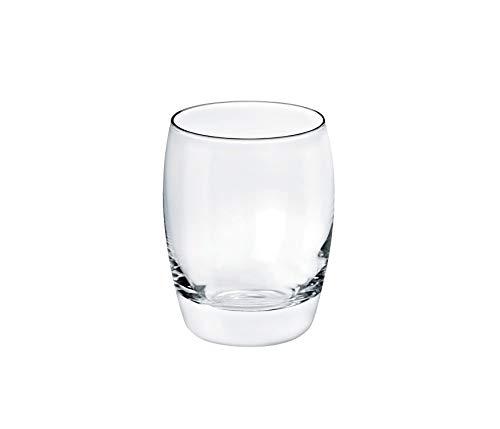 Borgonovo Aurelia – Juego de 6 Vasos de Vidrio, 330 ml