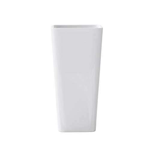 40x35x82 cm Design Standwaschbecken Colossum31 aus Gussmarmor Waschtisch Waschplatz Stand Säule