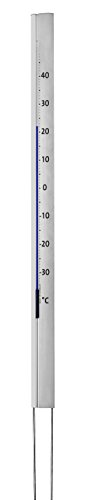TFA Dostmann Central Park analoges Design-Gartenthermometer, 12.2005, wetterfest