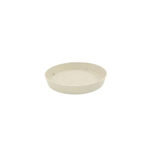 Plastiken tes – Plat Rond, diamètre de 11 cm, Couleur Ecru