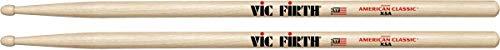 Vic Firth American Classic Extreme 5A - Baquetas, Nogal Americano, Punta de Madera