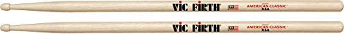 Vic Firth American Classic Series Drumsticks - Extreme 5A - American Hickory - Wood Tip