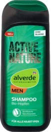 alverde MEN Shampoo MEN Active Nature, 1 x 200 ml