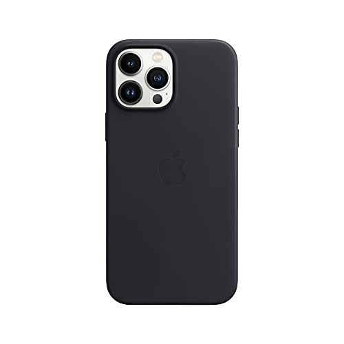 Apple Leder Hülle mit MagSafe (für iPhone 13 Pro Max) - Mitternacht
