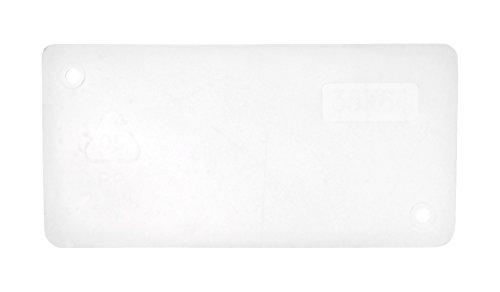 raaco 101998 Trennwand 150-1 (1Sa=48) Quertrennwand 35x64 für Stahlmagazine, Transparent