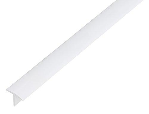 GAH-Alberts 485269 T-Profil - Kunststoff, weiß, 1000 x 25 x 18 mm