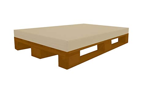 Best For Kids PUR Kinderbettmatratze Reisebettmatratze Babymatratze Schaumstoff Matratze RG25/44 Ohne Bezug in 2 Gr. 60x120 und 70x140 cm (80x120x12 cm)