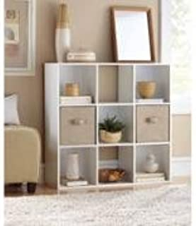 9-compartment Storage Cube in White By Mainstays