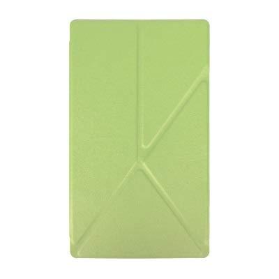 HHF Pad Accesorios Estuche para Sony Xperia Z3 Tablet Compact 8 '', PU CUERTURO DE Cuero Cubierta para Sony Xperia Z3 Tablet Funda Capa (Color : Verde)