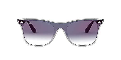 Ray-Ban 0RB4440N 6356X0 41 Gafas de Sol, Matte Trans, Unisex