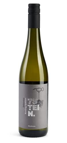 Siebenstein Riesling Spätlese – ein Prädikatswein Weißwein aus Rheinhessen, Deutschland (1 x 0.75 l)