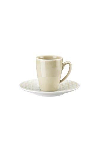 Rosenthal Studio + Selection Mesh Line Cream Espressotasse 2-TLG. [NPR]