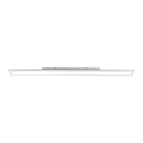 LED Panel, 120x10, dimmbare Decken-Lampe | Helligkeit mit Tronic-Dimmer einstellbar, kaltweiss/neutralweiß, 4000 Kelvin | Decken-Leuchte für Büro, Wohnzimmer, Küche und Bad [Energieklasse A+]