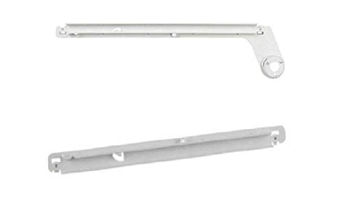 1 Pc of Slide Rail Set Crisper Part, Compatible With Electrolux Refrigerator Right And Meat Pan...