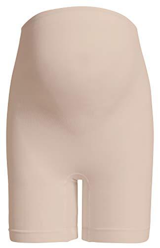 Noppies Kids Seamless shorts long - Ropa interior para mujer, Beige (Natural C018), M/L