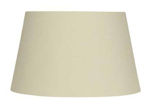 Oaks Lighting - S901/12 CR - Drum Abat-jour en coton - Crème - 60W