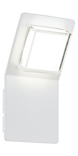 Eglo 93325 außenwand Spot Aluminium, intégré, blanc