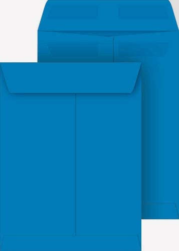 In stock Deep Blue 9x12 Catalog Envelopes Super intense SALE 100-pack Press Seal