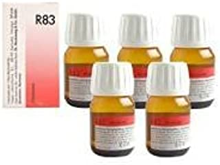 5 x Dr.Reckeweg-Germany R83 Homeopathic Medicine