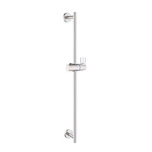 KES 28 Inch Shower Slide Bar Adjustable Handheld Shower Head Holder with Bracket for Bathroom Wall Mount SUS 304 Stainless Steel Brushed, F208DG-BS