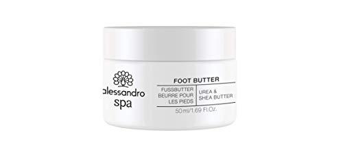 alessandro alessandro SPA FOOT FUSSBUTTER -Pflege für trockene Füße, 50ML 1er Pack(1 x) 50 ml