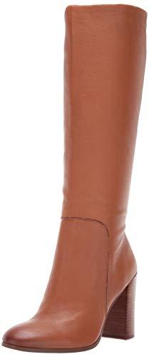 Kenneth Cole New York Women's Justin High Heel Knee Boot, Cognac, 8.5 M US