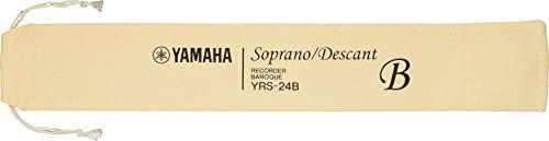 YAMAHA Recorder - Soprano, Baroque fingering, Brown