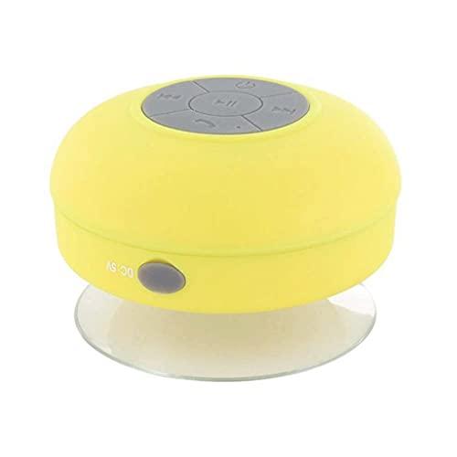 CHYSP Lautsprecher Wasserdichter kabelloser Bluetooth-Lautsprecher mit Freisprech-Dusche Pool Auto Badezimmer Küche mit Miniphone tragbar kompatibel