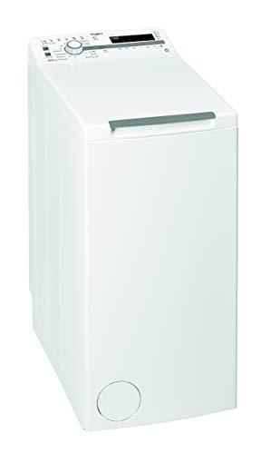 Whirlpool - Lavadora carga superior 6.5 kg TDLR 65230SS EU/N NX/N blanco, 1200 rpm, tecnología 6th sense y freshcare, motor universal, eficiencia NEL E