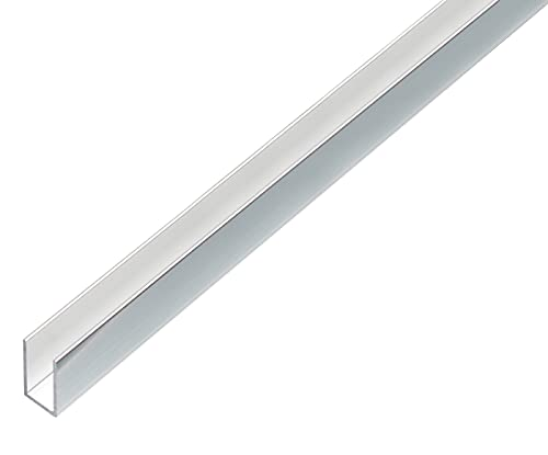 GAH-Alberts 488482 Perfil en U, Aluminio, 1000 x 10 x...
