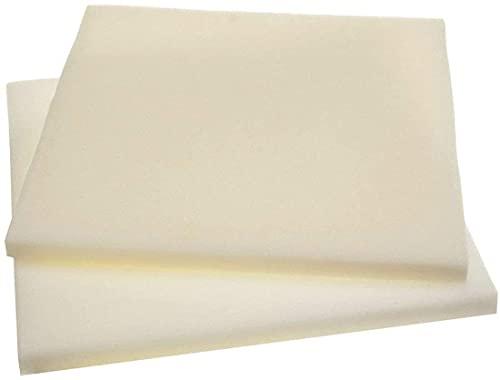 "Upholstery Foam Cushion Foam Seat Foam Padding (2"" x 18"" X 18"" Pack of 2)"
