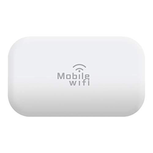 Jaimenalin 150Mbps 4G LTE Mobile WiFi Hotspot Desbloqueado Dispositivos de Enrutador de Internet InaláMbrico con Ranura para Tarjeta SIM para 3G / 4G