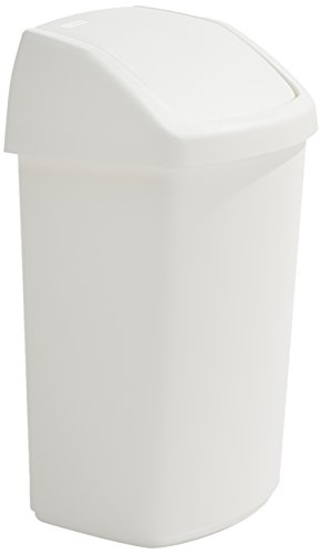 Rubbermaid Commercial Products R000881 Schwingdeckel Abfallbehälter, 50 L (1 Pack)