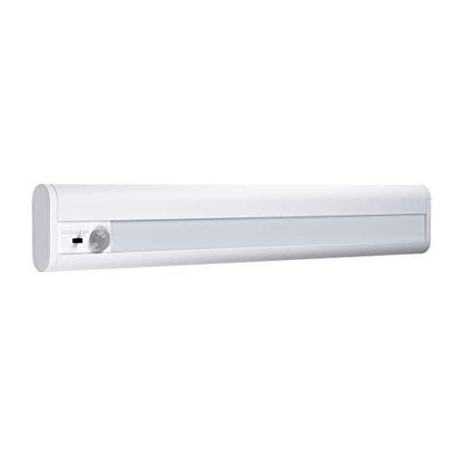 LEDVANCE LED Batteriebetriebene Leuchte, Leuchte für Innenanwendungen, Bewegungssensor, Tag-Nacht-Sensor, Kaltweiß, 314,0 mm x 48,0 mm x 18,0 mm, Linear LED Mobile